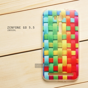 เคส Zenfone GO 5.5 นิ้ว (ZB552KL) เคสนิ่ม TPU พิมพ์ลาย แบบที่ 13