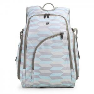 Ecosusi กระเป๋าเป้คุณแม่ ใส่สัมภาระสำหรับคุณแม่ มาพร้อมแผ่นรองเปลี่ยนผ้าอ้อม, สายคล้องรถเข็น, ช่องเก็บความร้อน-เย็น ทั้งสองด้าน (Light Blue)