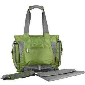 Ecosusi กระเป๋าคุณแม่ สะพายได้ แถมผ้ารองเปลี่ยนผ้าอ้อม ผลิตจากไนล่อนคุณภาพสูง ทนทาน ช่องใส่ของเยอะ
