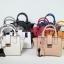 Amory Leather Mini Lock City Bag มีถุงผ้าแบรนด์ , ป้ายหนังแท้ thumbnail 1