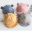 หมวกแก็ปเด็กเล็ก หูหมี ลายจุด น่ารัก วัย 3-18 เดือน thumbnail 11