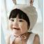 หมวกไพลอท หมวกนักบินมีหูสำหรับเด็ก ลายพื้น ด้านในลายดอกไม้ (มี 2 สี) thumbnail 9