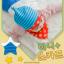 AP180••เซตหมวก+ผ้ากันเปื้อน•• / ดาว [สีฟ้า-แดง] thumbnail 2