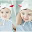 HT171••หมวกเด็ก•• / หมวกนักบิน (สีขาว) thumbnail 3