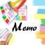 กระดาษโน๊ตแปรงทาสี < พร้อมส่ง > thumbnail 1
