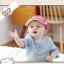 HT329••หมวกเด็ก•• / หมวกแก็ป Monkey (สีชมพู) thumbnail 3