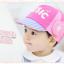 HT326••หมวกเด็ก•• / หมวกแก็ป Music (สีชมพู) thumbnail 2