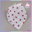 ผ้าพันคอเด็กอ่อนสามเหลี่ยม อเนกประสงค์แสนน่ารัก โทนสีเด็กหญิง แพ็ค 6 ชิ้น ส่งฟรี ลทบ. thumbnail 4