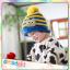 หมวกไหมพรมสำหรับเด็ก หมวกกันหนาวเด็กเล็ก หมวกบีนนี่ลายนกฮูก (มี 5 สี) thumbnail 7