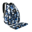 Ecosusi กระเป๋าสัมภาระคุณแม่ แบบเป้ มาพร้อมแผ่นรองเปลี่ยนผ้าอ้อม, สายคล้องรถเข็น, ช่องเก็บความร้อน-เย็น (Navy Patten) thumbnail 5