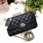 MARCS QUILTED CHAIN SHOULDER BAG WITH DETAILS thumbnail 4