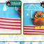 HT192••หมวกเด็ก•• / [สีฟ้า] นกฮูก thumbnail 8