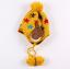 หมวกไหมพรมสำหรับเด็ก หมวกกันหนาวเด็กเล็ก ลายดวงดาวติดปีก (ไม่มีผ้าพันคอ) [มี 5 สี] thumbnail 14