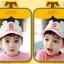 HT367••หมวกเด็ก•• / หมวกแก็ป Bubble (ปีกสีชมพู) thumbnail 2