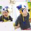 หมวกไหมพรมสำหรับเด็ก หมวกกันหนาวเด็กเล็ก ลายเสือ (มี 5 สี) thumbnail 4
