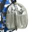 Ecosusi กระเป๋าสัมภาระคุณแม่ แบบเป้ มาพร้อมแผ่นรองเปลี่ยนผ้าอ้อม, สายคล้องรถเข็น, ช่องเก็บความร้อน-เย็น (Navy Patten) thumbnail 13