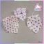 ผ้าพันคอเด็กอ่อนสามเหลี่ยม อเนกประสงค์แสนน่ารัก โทนสีเด็กหญิง แพ็ค 6 ชิ้น ส่งฟรี ลทบ. thumbnail 5