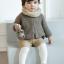 SK012••ถุงเท้าเด็ก•• แรคคูน (สีน้ำตาลอ่อน-ข้อสั้น) thumbnail 4