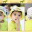 HT487••หมวกเด็ก•• / หมวกปีกกว้าง-Rabbit (สีเหลือง) thumbnail 5