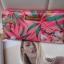 Victoria's Secret Tropical hawaii style satin zip wallet thumbnail 4
