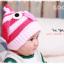 หมวกไหมพรมสำหรับเด็ก หมวกกันหนาวเด็กเล็ก ลายเพนกวิน (มี 6 สี) thumbnail 6