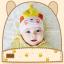 หมวกบีนนี่ หมวกเด็กสวมแบบแนบศีรษะ ลายกระต่ายน้อย (มี 5 สี) thumbnail 2