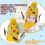 หมวกไหมพรมสำหรับเด็ก หมวกกันหนาวเด็กเล็ก ลายดวงดาวติดปีก (ไม่มีผ้าพันคอ) [มี 5 สี] thumbnail 7