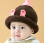 หมวกไหมพรมสำหรับเด็ก หมวกกันหนาวเด็กเล็ก หมวกบีนนี่ สีทูโทน (มี 5 สี) thumbnail 25