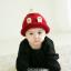 หมวกไหมพรมสำหรับเด็ก หมวกกันหนาวเด็กเล็ก หมวกบีนนี่ สีทูโทน (มี 5 สี) thumbnail 3