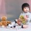 SK106••ถุงเท้าเด็ก•• จิ้งจอก/สีขาว (ข้อยาว) thumbnail 2