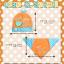 AP135••เซตหมวก+ผ้ากันเปื้อน•• / [สีเหลือง] กระรอก thumbnail 6