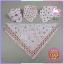 ผ้าพันคอเด็กอ่อนสามเหลี่ยม อเนกประสงค์แสนน่ารัก โทนสีเด็กหญิง แพ็ค 6 ชิ้น ส่งฟรี ลทบ. thumbnail 6