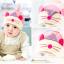หมวกบีนนี่ หมวกเด็กสวมแบบแนบศีรษะ ลายหนู (มี 4 สี) thumbnail 4