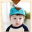 หมวกแก๊ป หมวกเด็กแบบมีปีกด้านหน้า ลายหมีสกรีนสามเหลี่ยม (มี 4 สี) thumbnail 7