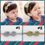 HB082••ที่คาดผมเด็ก•• โบว์เลื่อม (มี 2 สี) thumbnail 1