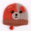 หมวกไหมพรมสำหรับเด็ก หมวกกันหนาว ลายหมี (มี 3 สี) thumbnail 9