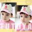 HT367••หมวกเด็ก•• / หมวกแก็ป Bubble (ปีกสีชมพู) thumbnail 4
