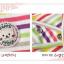 AP083••เซตหมวก+ผ้ากันเปื้อน•• / ลายขวาง มี 3 สี thumbnail 3