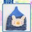 หมวกไหมพรมถักมือ ปลายหมวกแหลม หมวกบีนนี่สำหรับเด็ก ลายกระต่าย (มี 4 สี) thumbnail 9