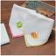 ผ้าเช็ดหน้าสีขาวปักลาย กบ/ลูกเจี๊ยบ thumbnail 2