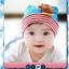 HT192••หมวกเด็ก•• / [สีฟ้า] นกฮูก thumbnail 2