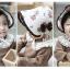 HT098••หมวกเด็ก•• / หมวกถังกุหลาบสีครีม thumbnail 3