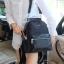 กระเป๋าเป้ไนล่อนตัดหนัง ทรงน่ารักมากๆๆๆ จากแบรนด์ KEEP รุ่น Arrow backpack thumbnail 12