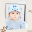 HT322••หมวกเด็ก•• / หมวกแก็ป-HC (สีฟ้า) thumbnail 1