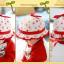HT479••หมวกเด็ก•• / หมวกปีกกว้าง-กระต่าย (สีแดง) thumbnail 5
