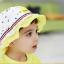HT487••หมวกเด็ก•• / หมวกปีกกว้าง-Rabbit (สีเหลือง) thumbnail 4