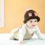 หมวกไหมพรมสำหรับเด็ก หมวกกันหนาวเด็กเล็ก หมวกบีนนี่ สีทูโทน (มี 5 สี) thumbnail 16