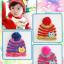 หมวกไหมพรมสำหรับเด็ก หมวกกันหนาวเด็กเล็ก หมวกบีนนี่ลายนกฮูก (มี 5 สี) thumbnail 12