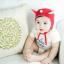 HT170••หมวกเด็ก•• / หมวกนักบิน (สีแดง) thumbnail 2