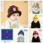 หมวกไหมพรมสำหรับเด็ก หมวกกันหนาวเด็กเล็ก หมวกบีนนี่ สีทูโทน (มี 5 สี) thumbnail 1